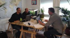 Séance de coworking au Périscop !